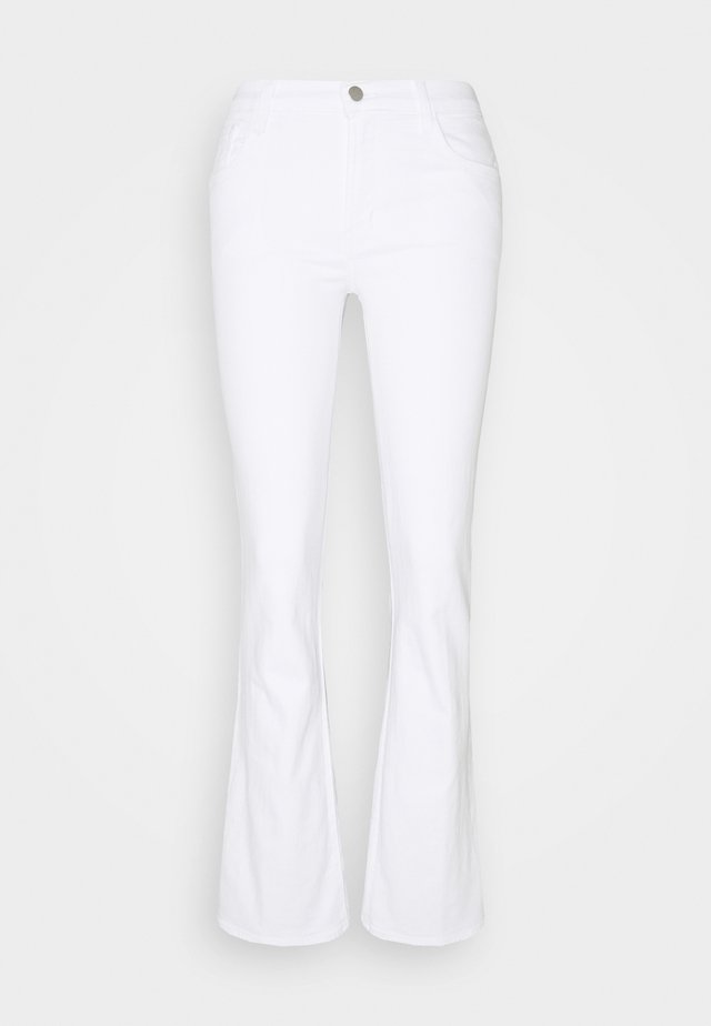 SALLIE MID RISE BOOT - Bootcut jeans - blanc