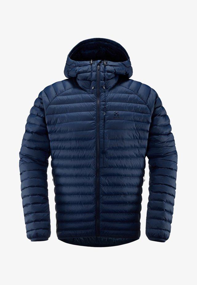 HAGLÖFS ISOLATIONSJACKE ESSENS MIMIC HOOD MEN - Winter jacket - blue