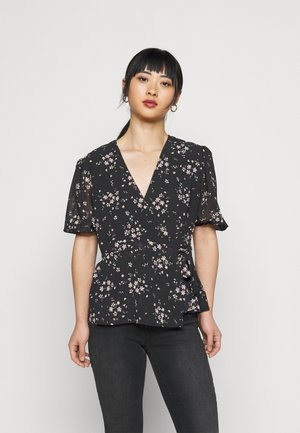 GORDIA  - Print T-shirt - black