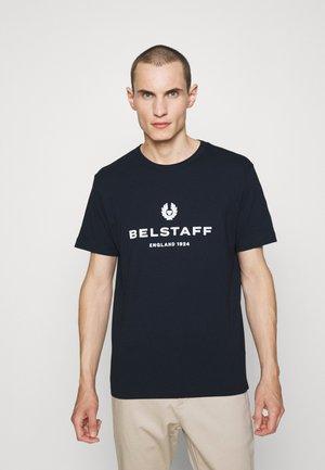 T-shirt med print - dark ink
