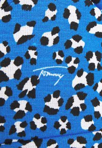Tommy Jeans - FLARE LEO PRINT DRESS - Jersey dress - blue - 6