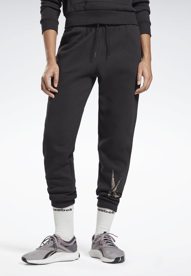 MODERN SAFARI PANTS - Tracksuit bottoms - black