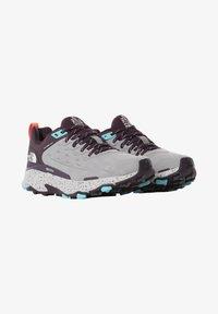 The North Face - Climbing shoes - meldgry/darkeggplantpurpl - 0