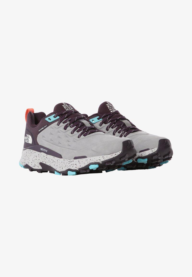 The North Face - Climbing shoes - meldgry/darkeggplantpurpl