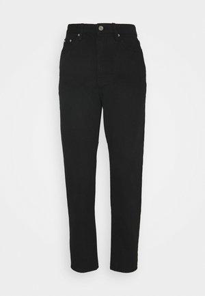 RIOT HIGHWAISTED MOM  - Straight leg jeans - black