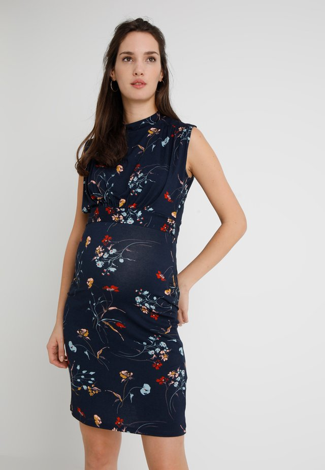 RITA TANK - Shift dress - navy blue