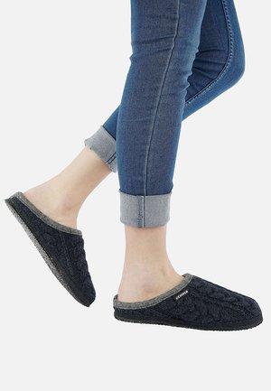 NEUDAU - Slippers - nachtblau