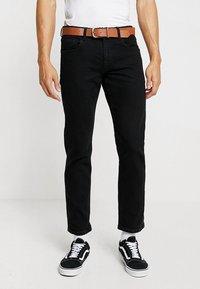 Esprit - Džíny Straight Fit - BLACK RINSE - 0
