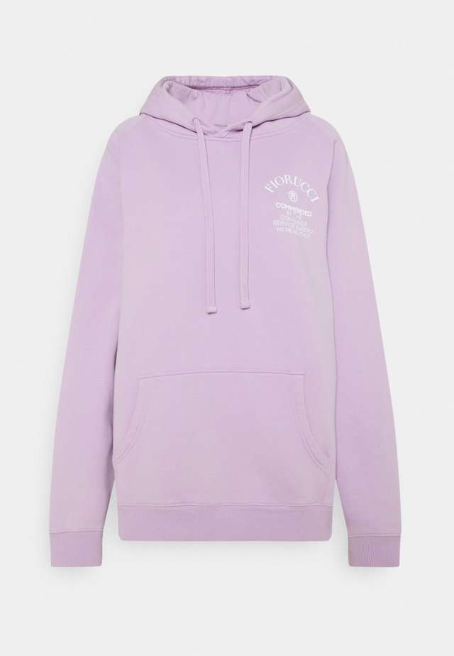 COMMENDED HOODIE UNISEX - Mikina s kapucí - lilac