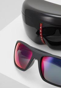 Prada Linea Rossa - Sunglasses - black/blue/red - 2