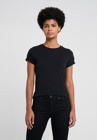 HUGO - THE PLAIN TEE - Basic T-shirt - black - 0