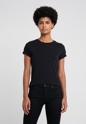 THE PLAIN TEE - Basic T-shirt - black