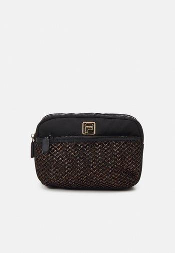 SAFETY BELT WAISTBAG UNISEX - Bum bag - black/bronze