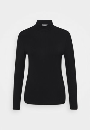 LONGSLEEVE WITH TURTLE NECK - Long sleeved top - black