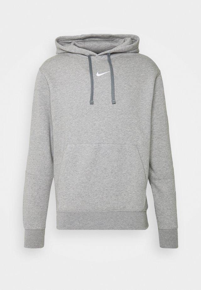 REPEAT HOODIE  - Kapuzenpullover - grey heather/white
