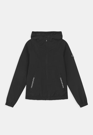 MONOGRAM BADGE - Light jacket - black