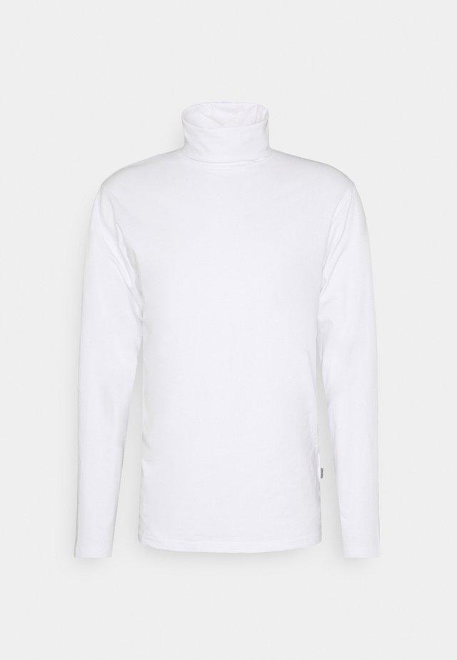 TED ROLLNECK - Topper langermet - white