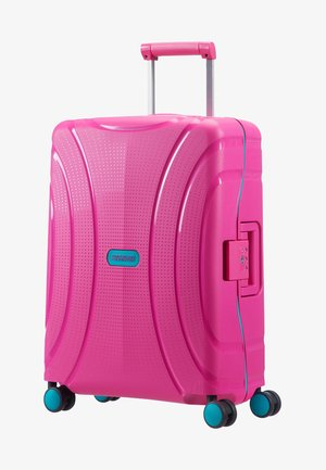 LOCK'N'ROLL TROLLEY - Wheeled suitcase - summer pink