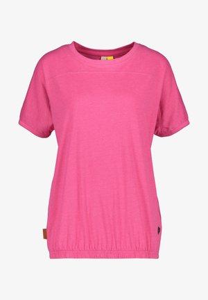 Basic T-shirt - fuchsia