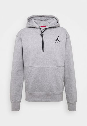 JUMPMAN AIR - Kapuzenpullover - carbon heather/(black)