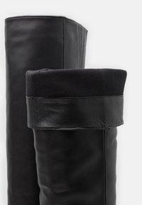 ASRA - KYLA - Over-the-knee boots - black - 5