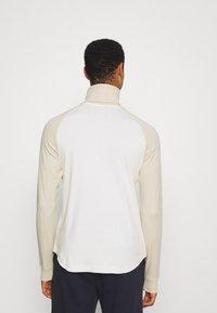 BOSS - BOSS X RUSSELL ATHLETIC TERON - Langarmshirt - open white - 2