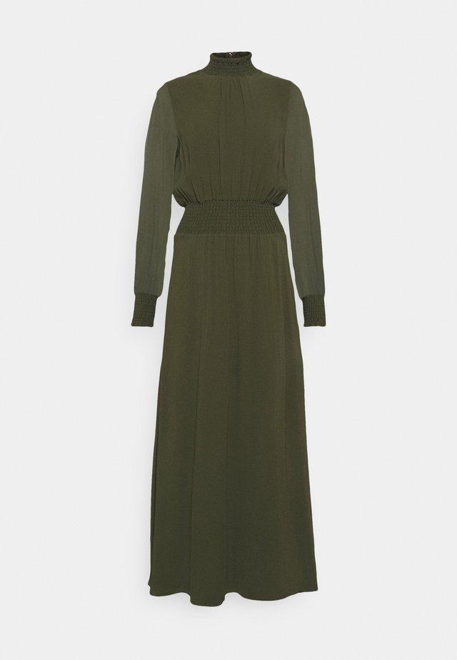 RAPA - Vestito lungo - dark olive