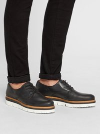 Bianco - DERBY - Casual lace-ups - black - 1