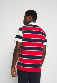 Lacoste - Polo shirt - rouge/marine naturel/clair blanc - 2