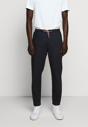 HARBOUR RELAXED - Trousers - dark night