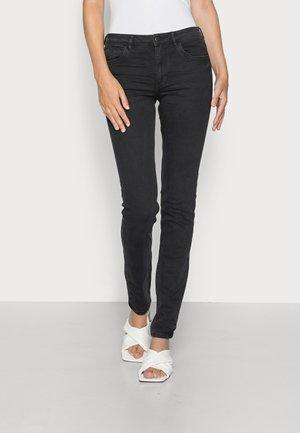 MR SLIM HIGH STRETCH - Jeans Skinny Fit - black dark wash