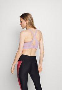 Under Armour - RUSH HIGH - High support sports bra - purple - 2