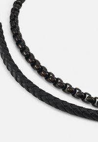BOSS - BLENDED - Bracelet - black - 2