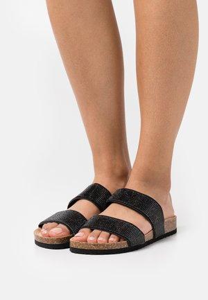 COMFORT - Slippers - black
