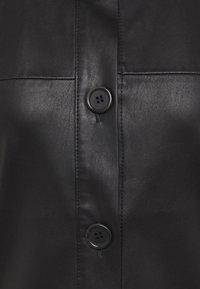 someday. - NIDA - Faux leather jacket - black - 2