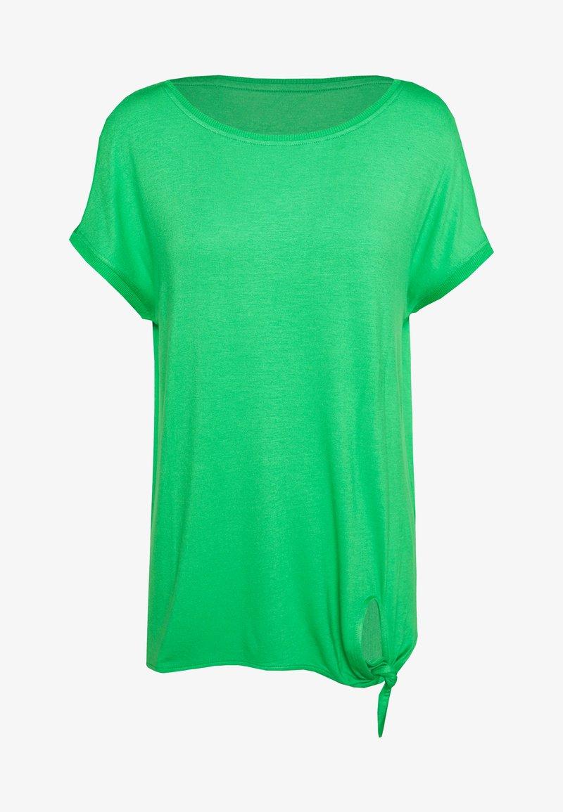 s.Oliver - KURZARM - Basic T-shirt - neon green