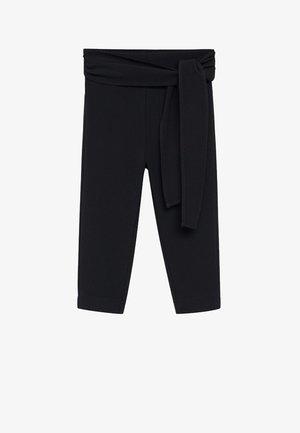 BOW - Trousers - svart