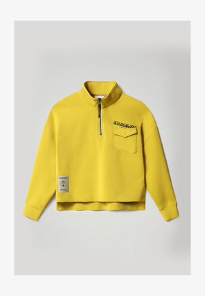 B-OAHU - Sweatshirt - yellow moss