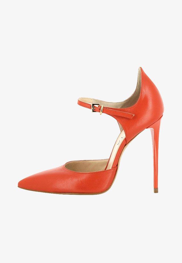 LISA - Zapatos altos - coral