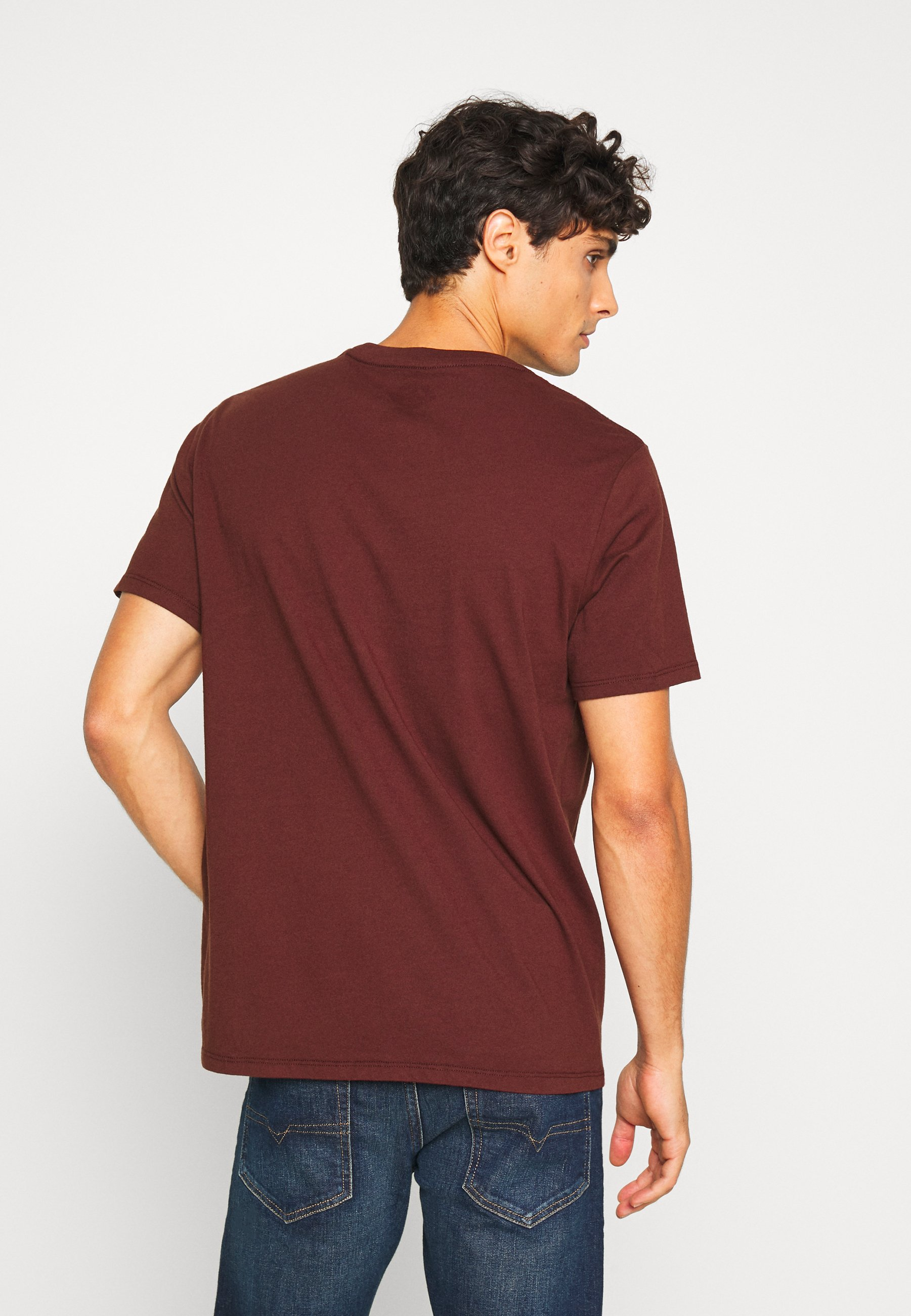 DOCKERS PACIFIC CREW TEE - Basic T-shirt - chestnut red tSIA9
