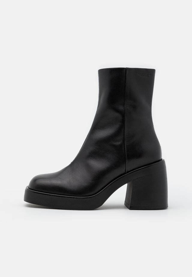 BROOKE - High heeled ankle boots - black