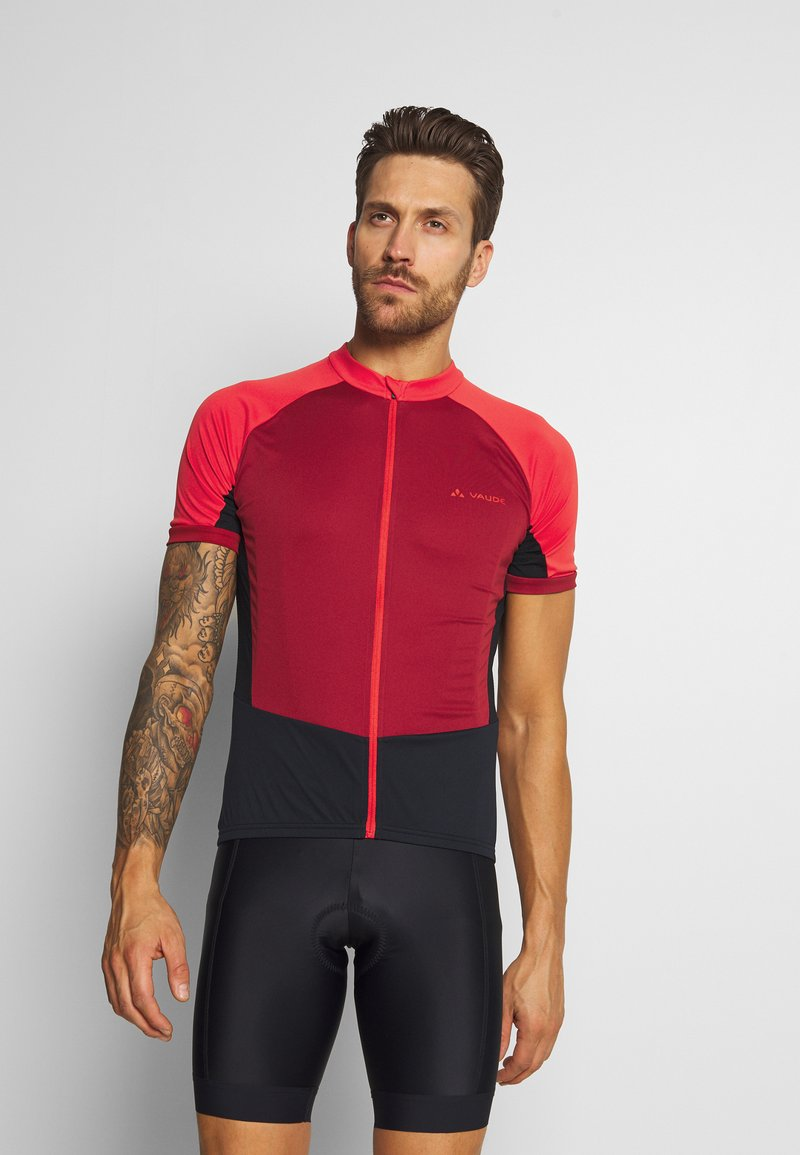 Vaude - ADVANCED FZ - T-Shirt print - carmine