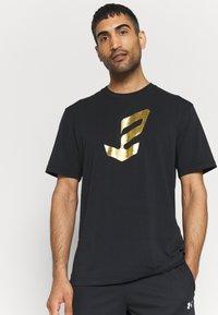 Under Armour - EMBIID MINE TEE - Print T-shirt - black - 3