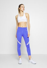 Nike Performance - ONE CROP - Leggings - sapphire/white/black