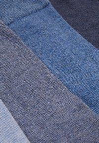 Pier One - 5 PACK - Sokken - mottled blue - 1