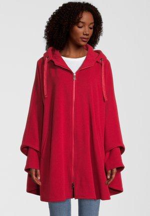 HADA-1 - Zip-up sweatshirt - red