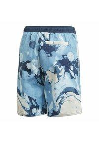 adidas Performance - WAVEBEAT - Swimming shorts - blue - 1