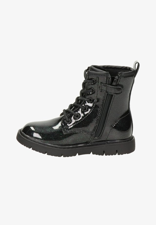 Lace-up ankle boots - groen