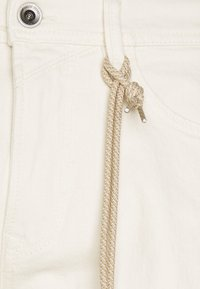 TOM TAILOR DENIM - Trousers - unbleached natural denim - 3