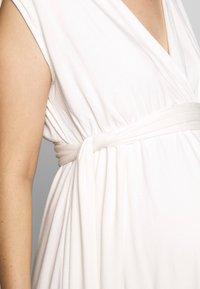 Envie de Fraise - ROMIA TANK MATERNITY DRESS - Sukienka z dżerseju - off white - 4